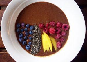 cacao y mango