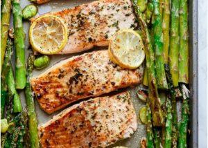 salmon con esparragos 5